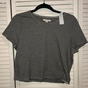 gingham american eagle shirt